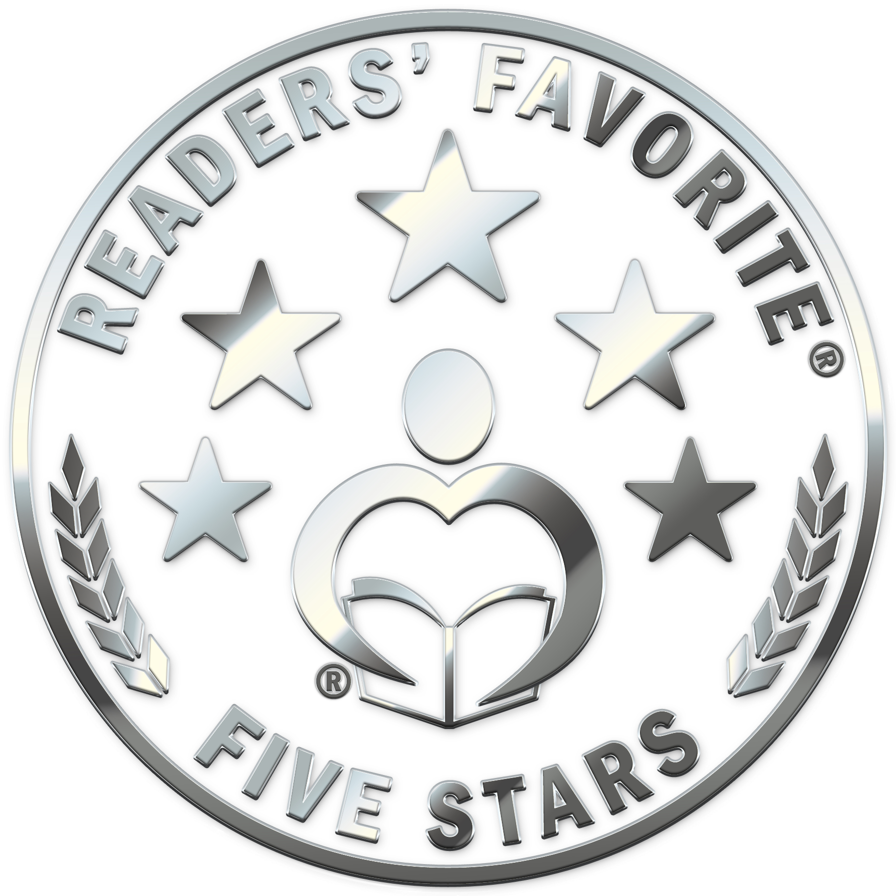Readers' Favorite 5 star logo